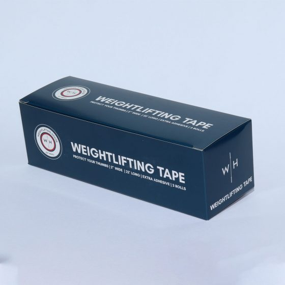 Blue Weightlifting House Tape Box