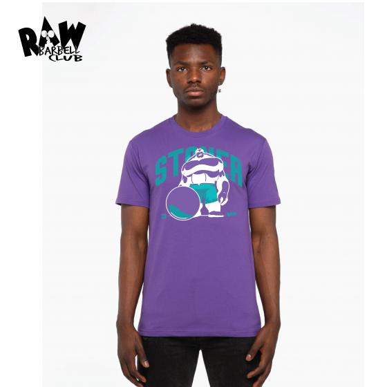 stoner tee purple