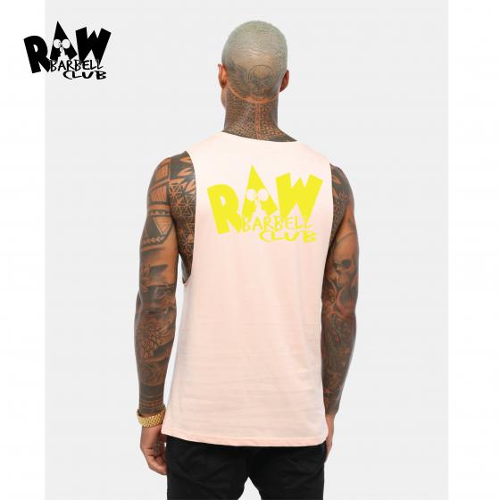 pink raw back